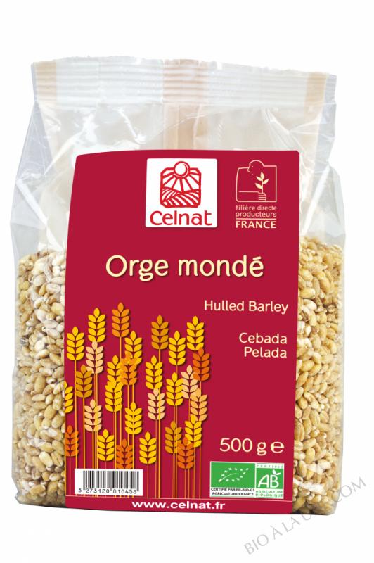 CELNAT Orge Mondé BIO - 500g