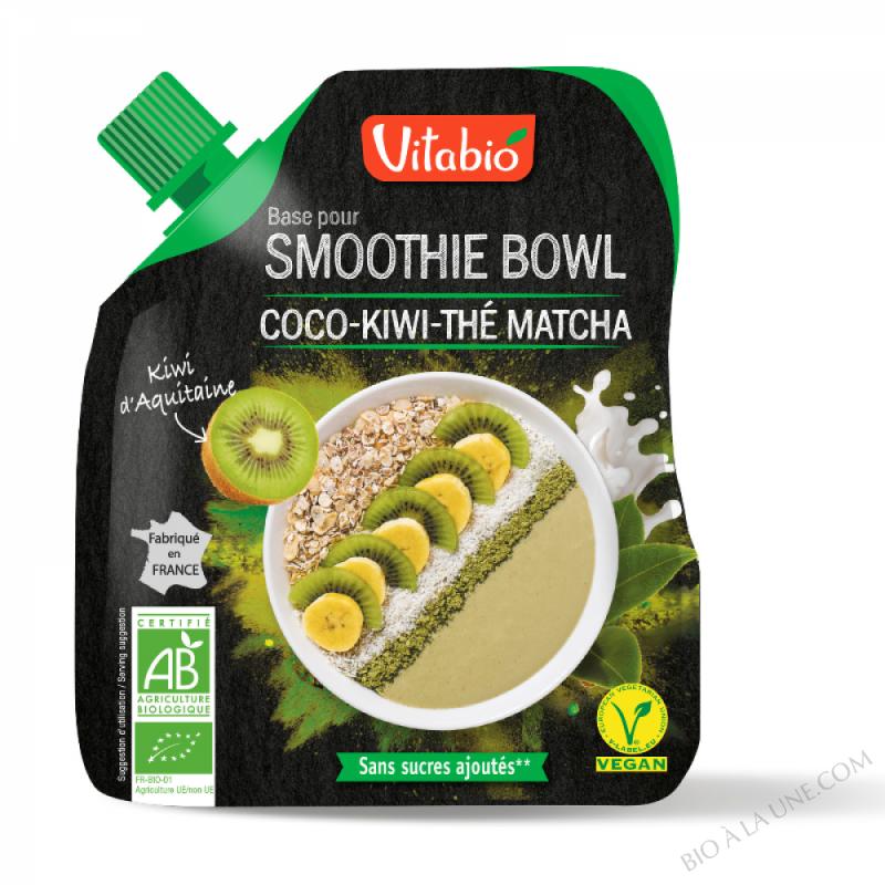 VITABIO Smoothie Bowl Coco Kiwi Thé Matcha