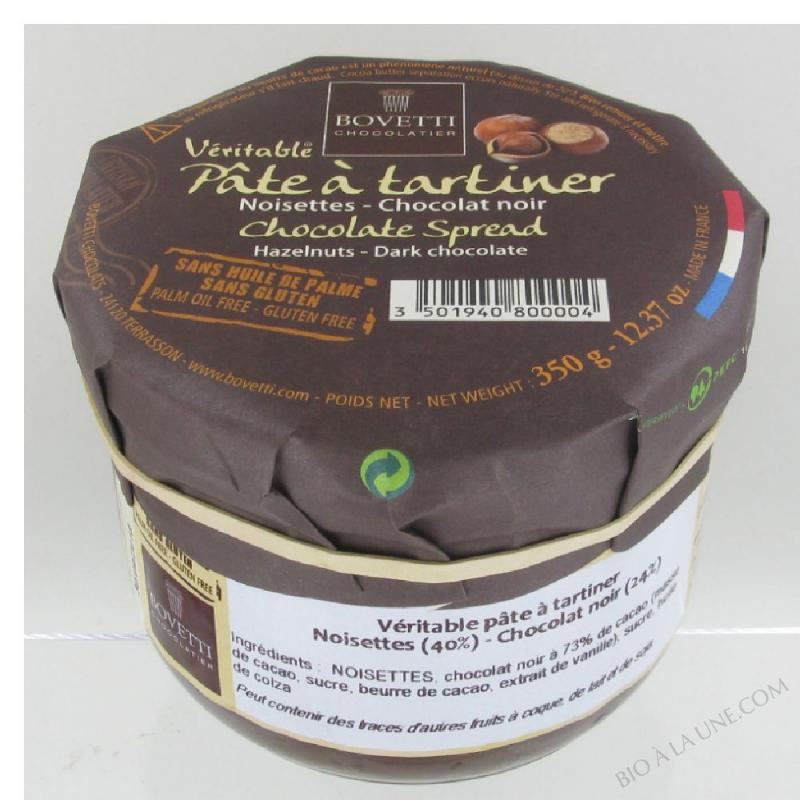 Pâte à Tartiner Chocolat Noir/noisette- 350 g