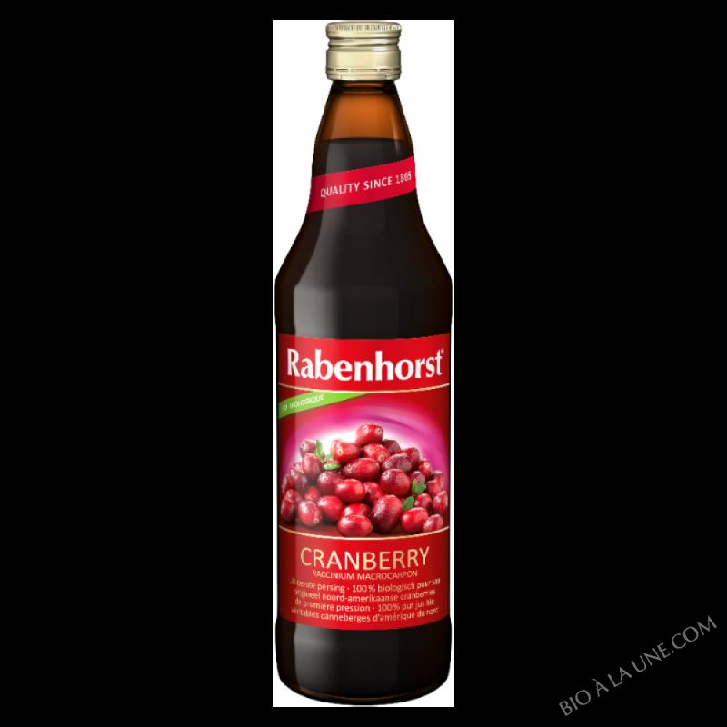 Pur jus de Cranberry BIO
