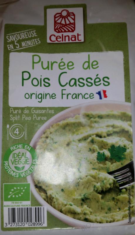 Purée De Pois Cassés - 200g