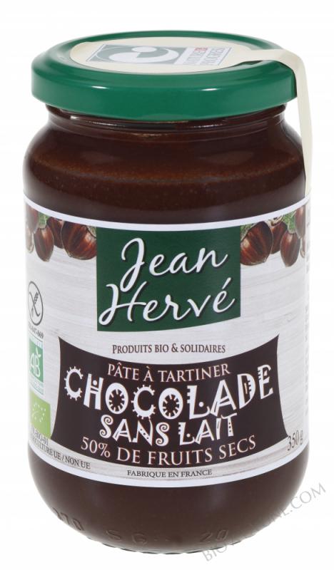 Pâte à tartiner Chocolade Sans Lait bio 350g