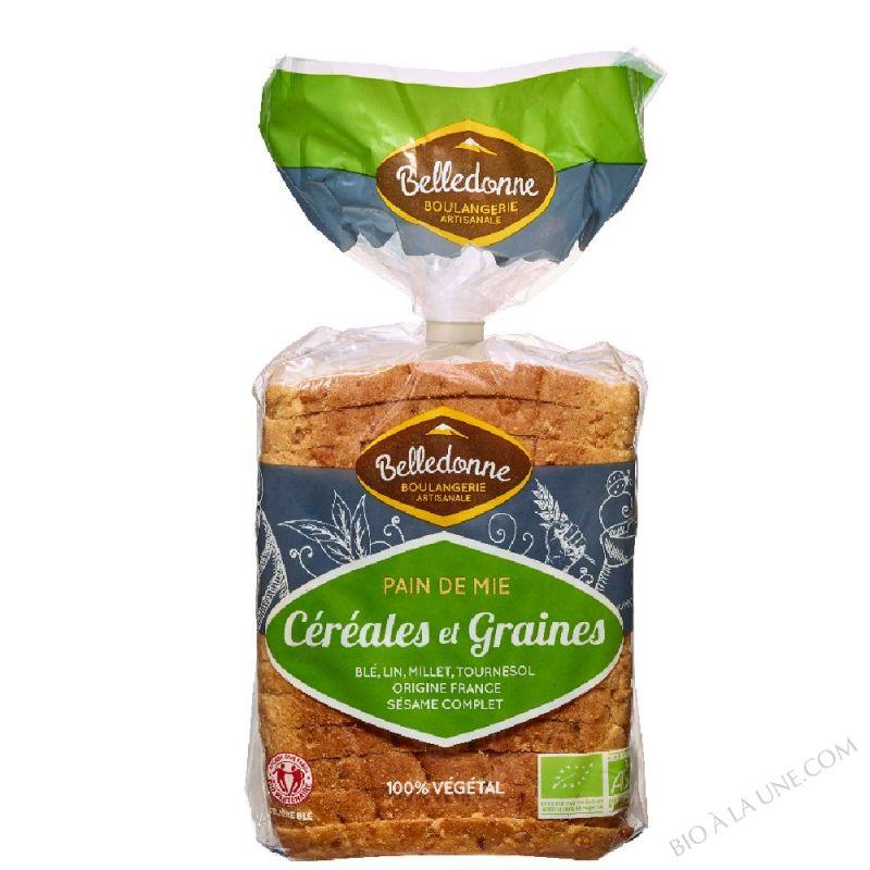 Pain de mie Céréales et Graines