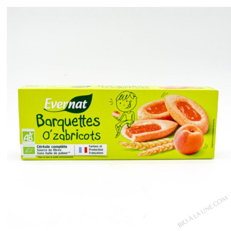 Barquettes o'zabricots 120g