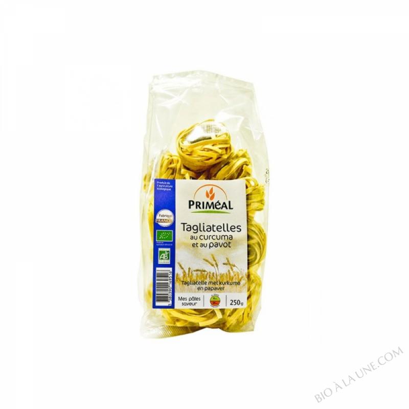 Tagliatelles Curcuma et Pavot
