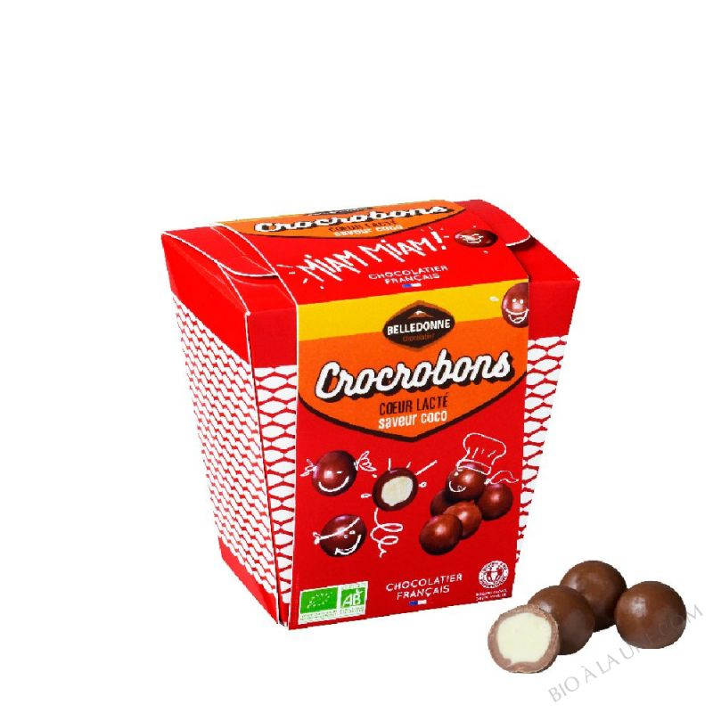 Crocrobons coeur lacté coco