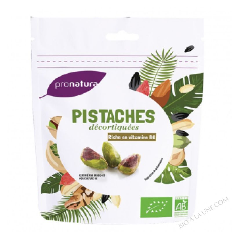 Pistaches decortiquees 125g