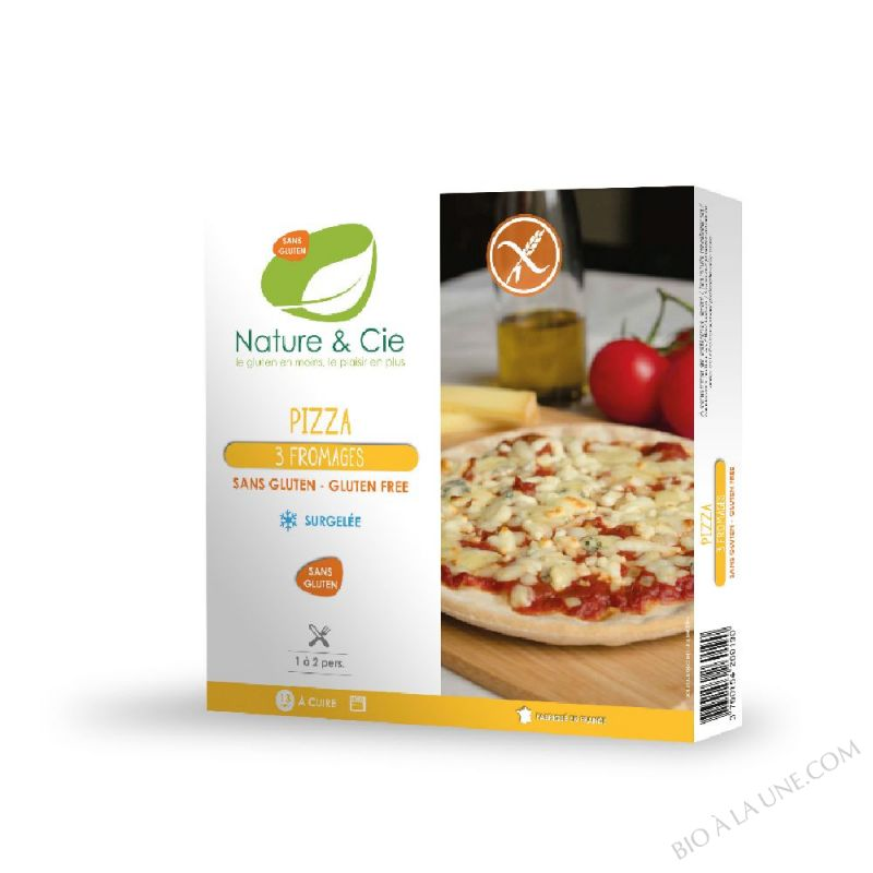 PIZZA 3 FROMAGES 250G