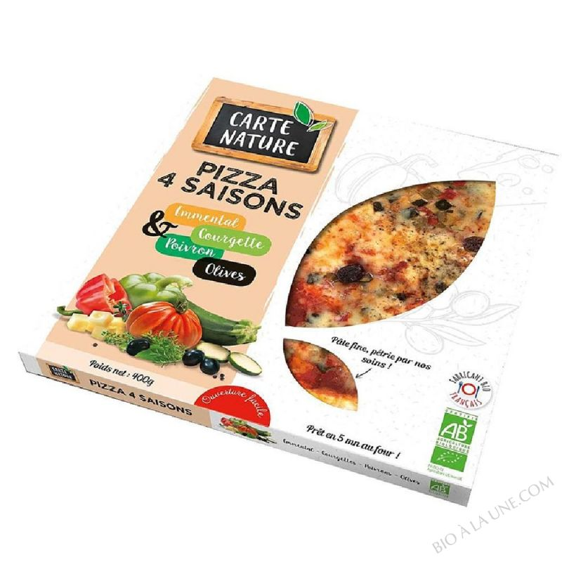 Pizza 4 Saisons- 400 g