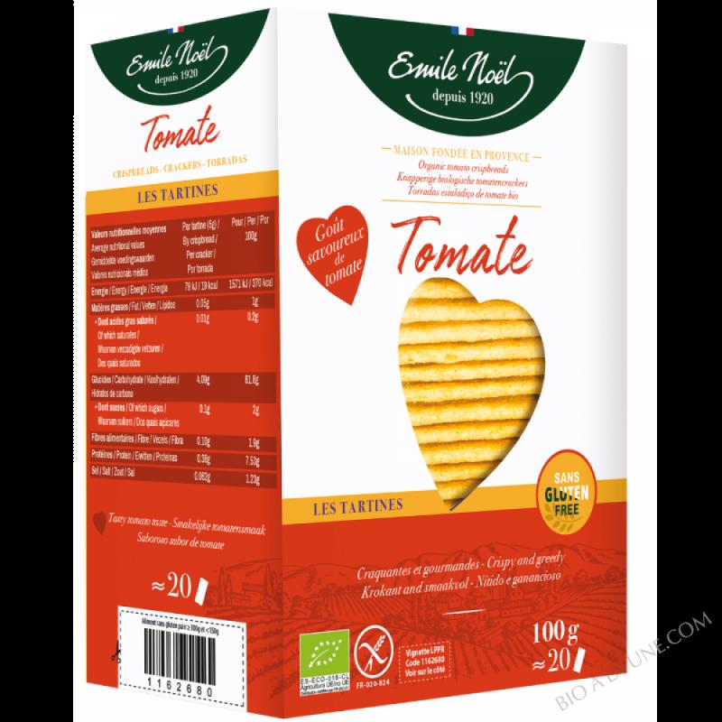 Tartines Tomate - Sans Gluten