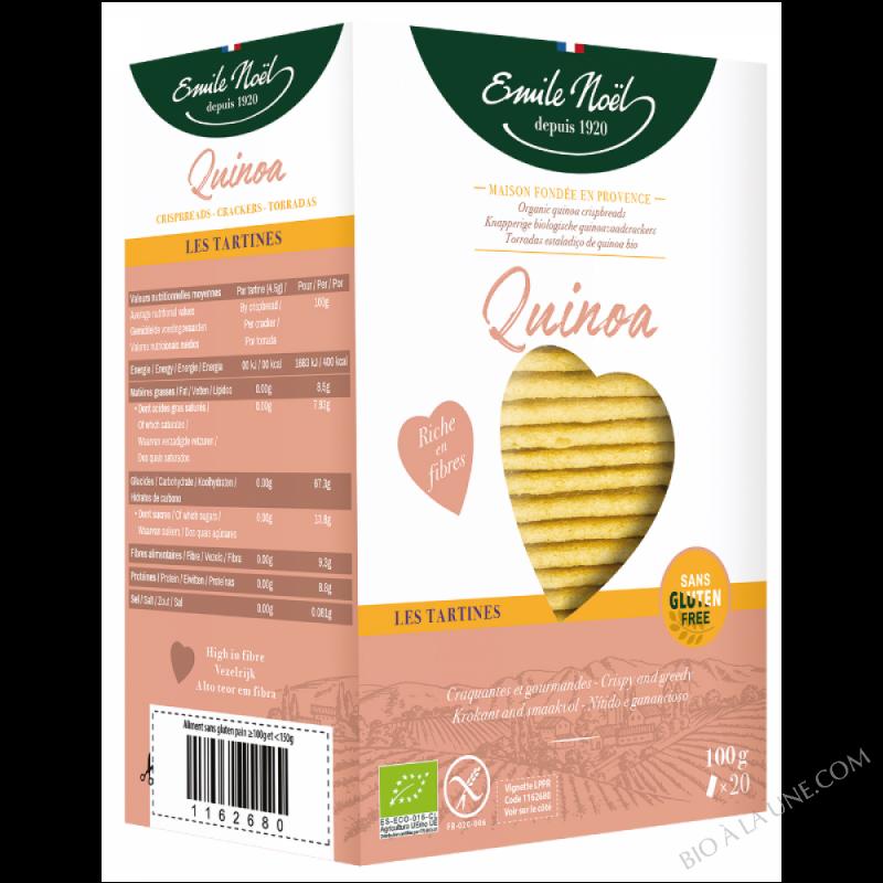 Tartines Quinoa - Sans gluten