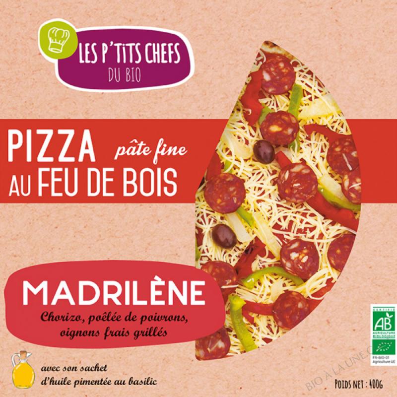 PIZZA MADRILENE AU FEU DE BOIS 400 G
