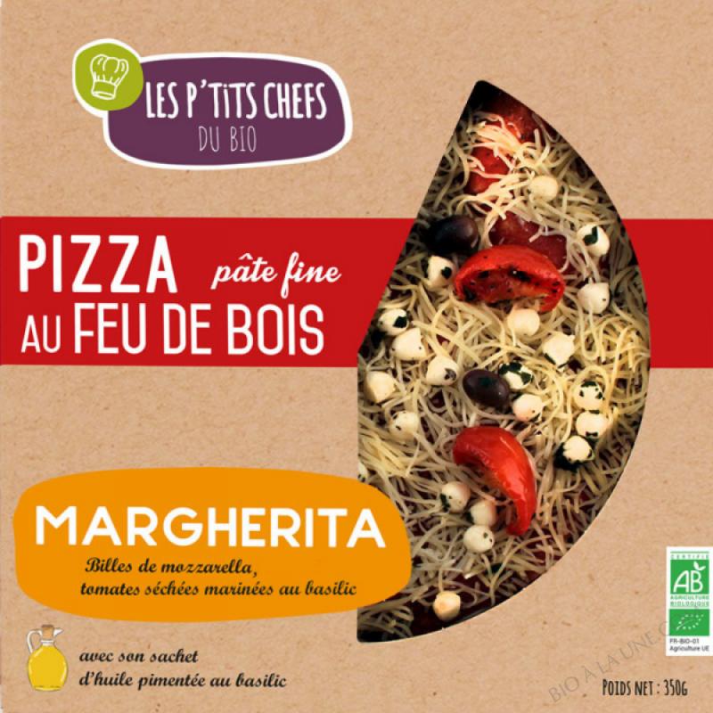 PIZZA MARGHERITA AU FEU DE BOIS 400 G