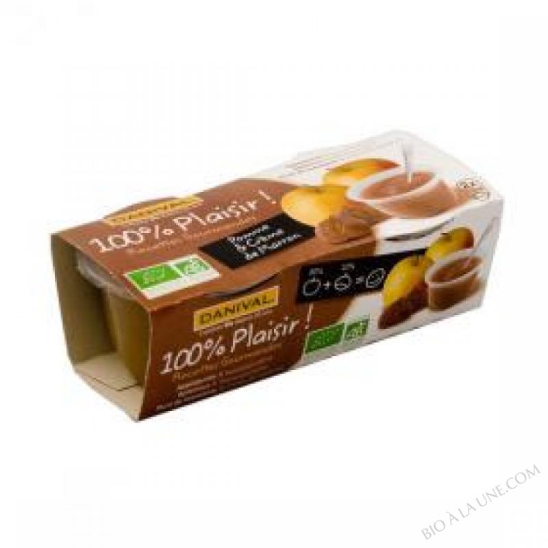 Pomme-creme de marrons BIO 2x110g