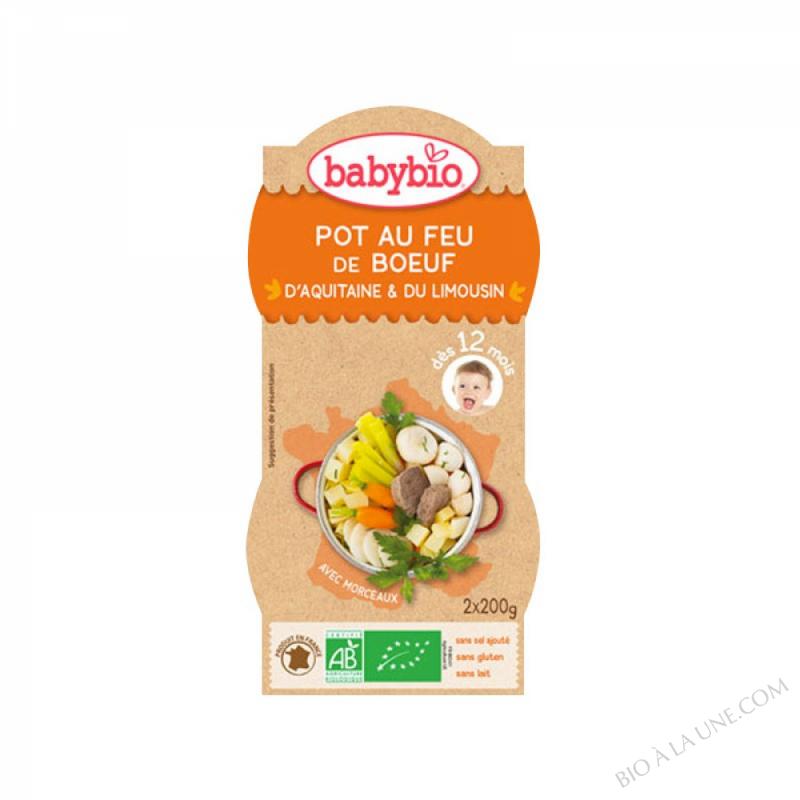 BABYBIO Bol Pot au Feu Boeuf