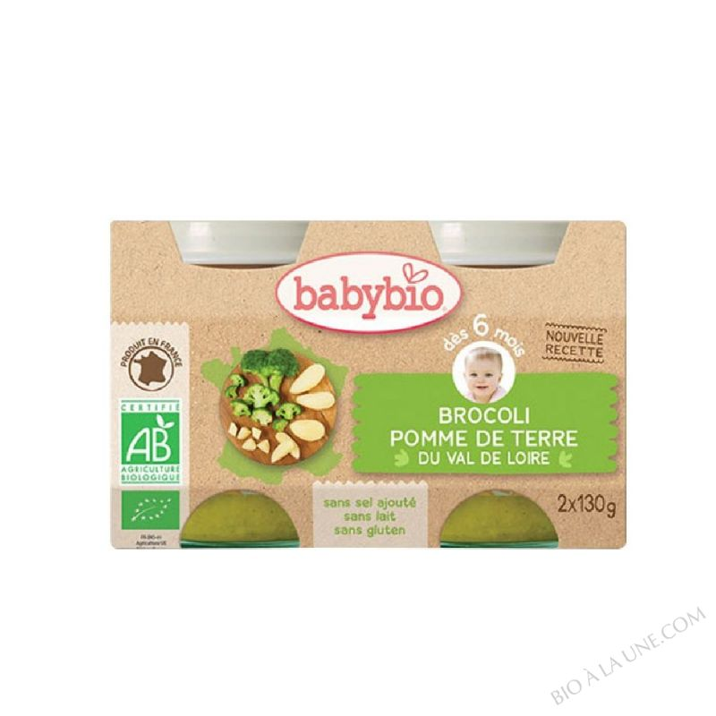 BABYBIO Pot Brocoli Pomme de terre