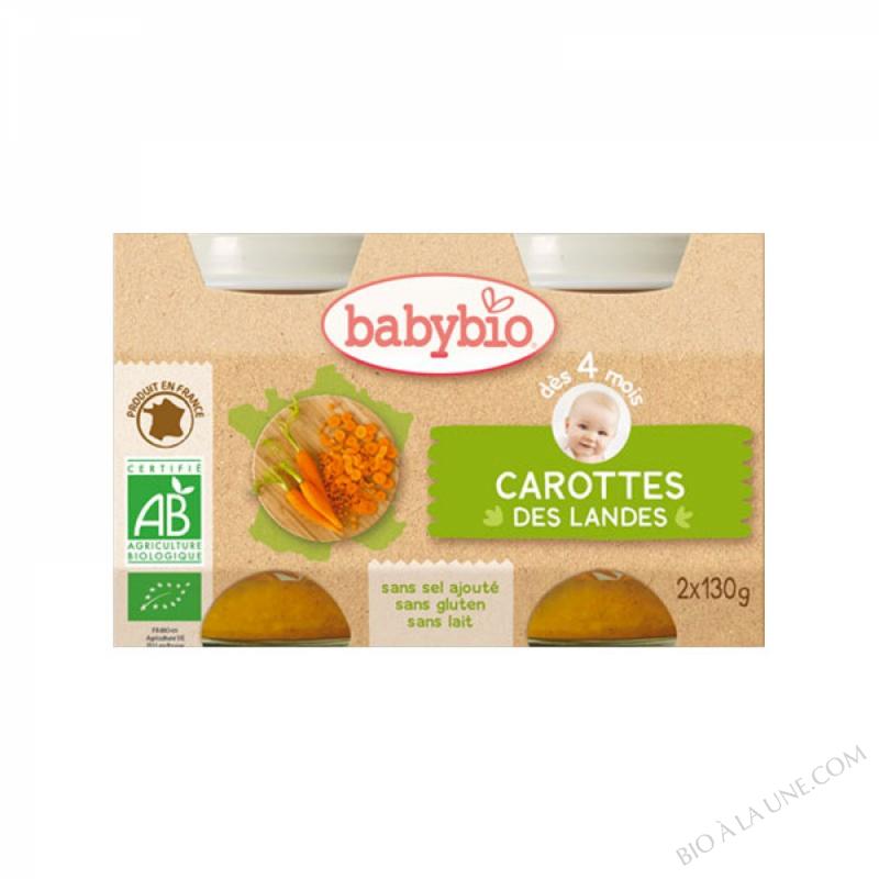 BABYBIO Pot Carotte