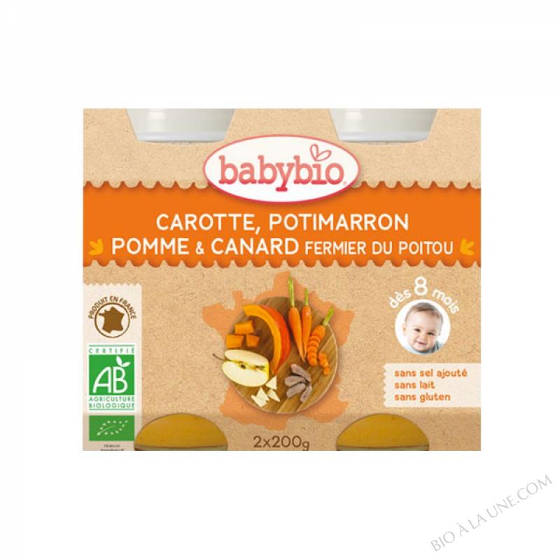 BABYBIO Pot Légumes Canard