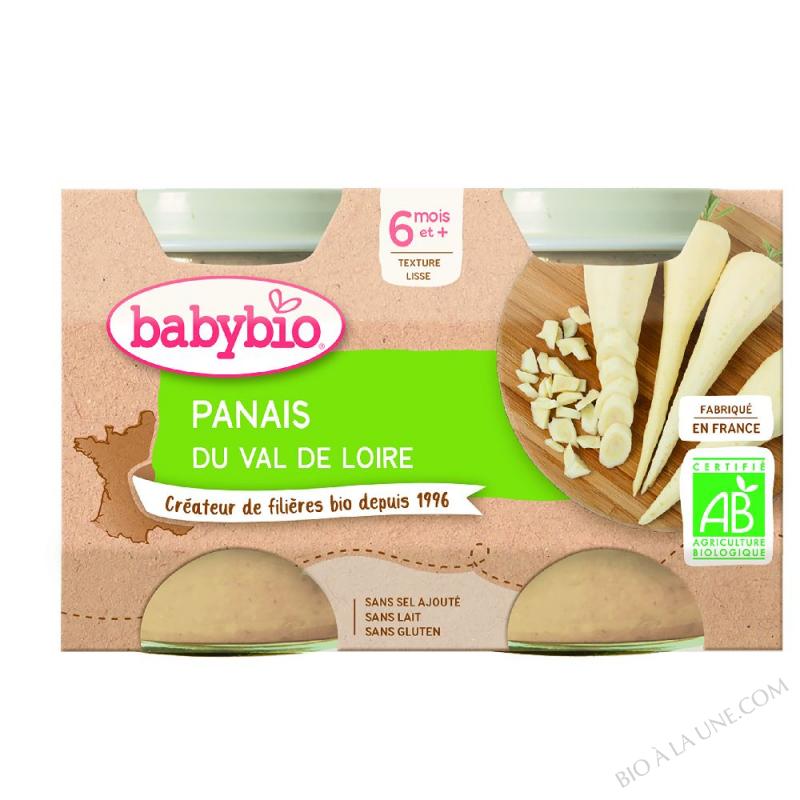 POT BB PANAIS 2X130G BABYBIO