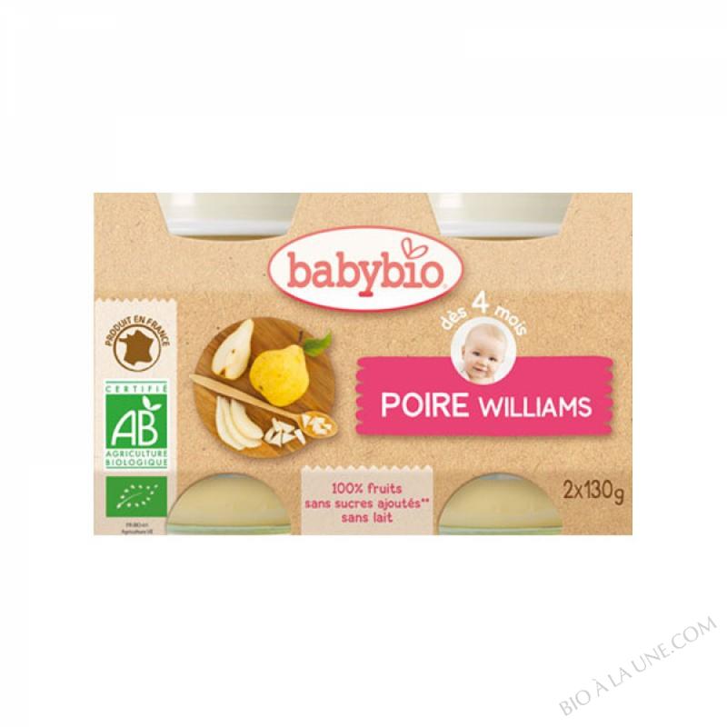 BABYBIO Pot Poire