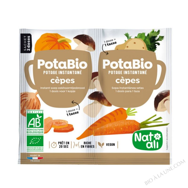 Potage Bio Cepes 2 x 8,5 gr