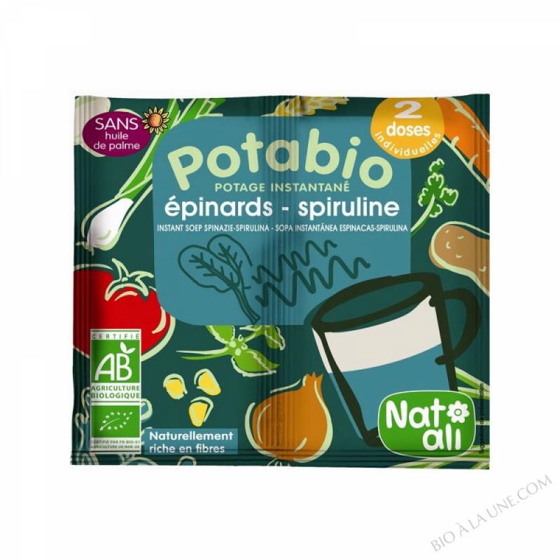 Potage Bio Epinards Spiruline 2x8.5gr