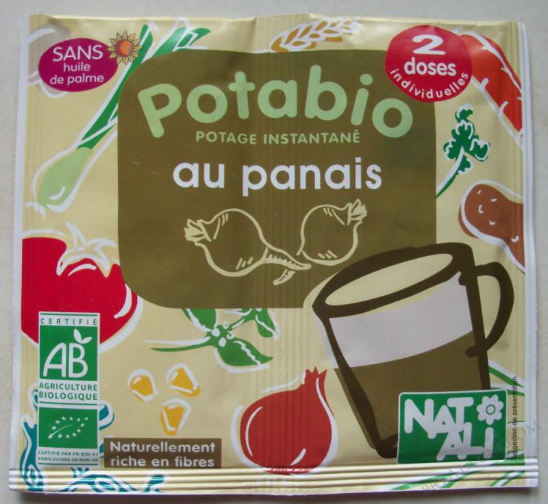 Potage Bio Panais 2 x 8,5 gr