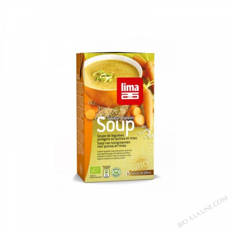 Soupe potagère au quinoa 1L