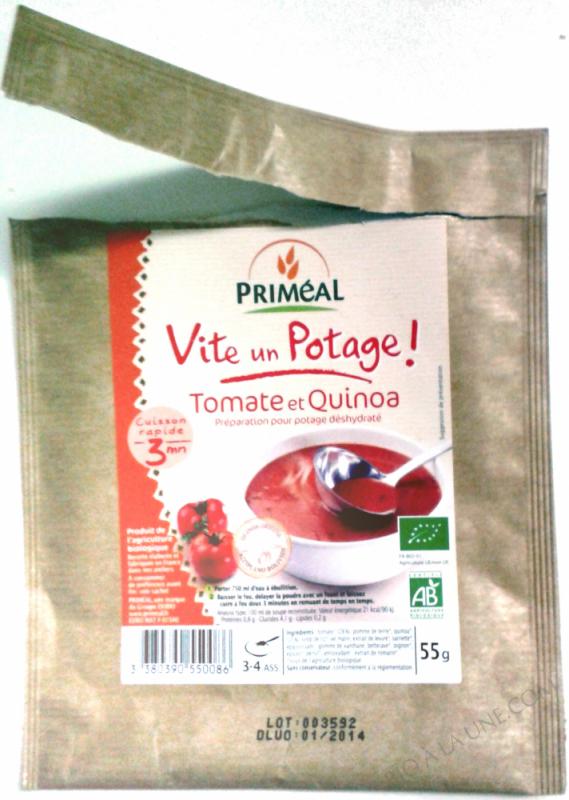 Potage Tomate & Quinoa