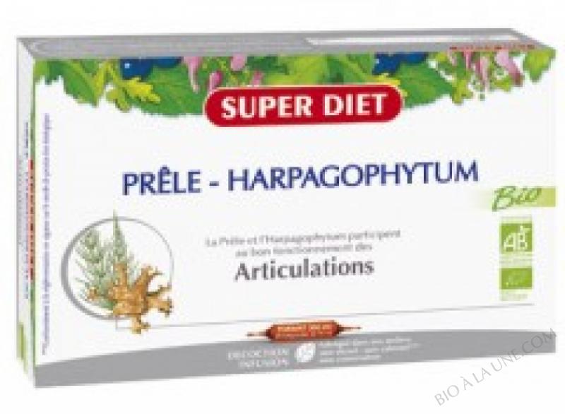 PRELE HARPAGOPHYTUM AMPOULES 15ML (20) SUPER DIET
