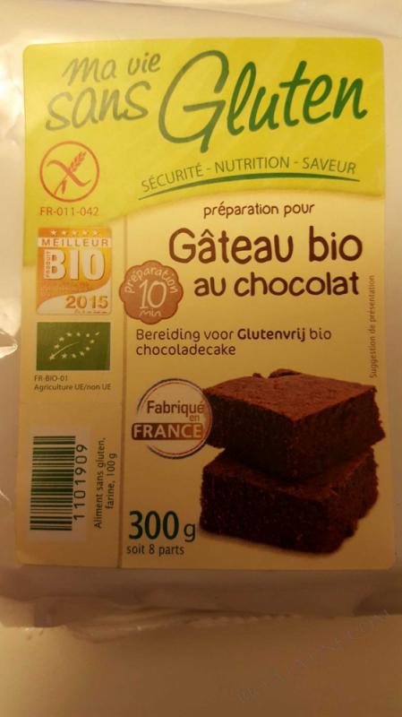 Preparation Gâteau au chocolat 300g