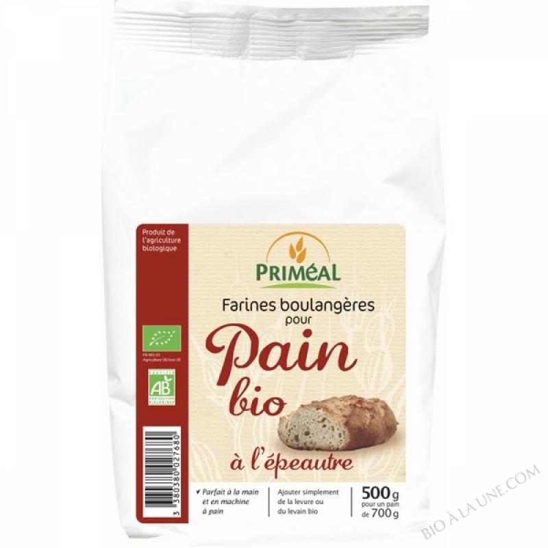 Farine de Pain Bio à l'epeautre