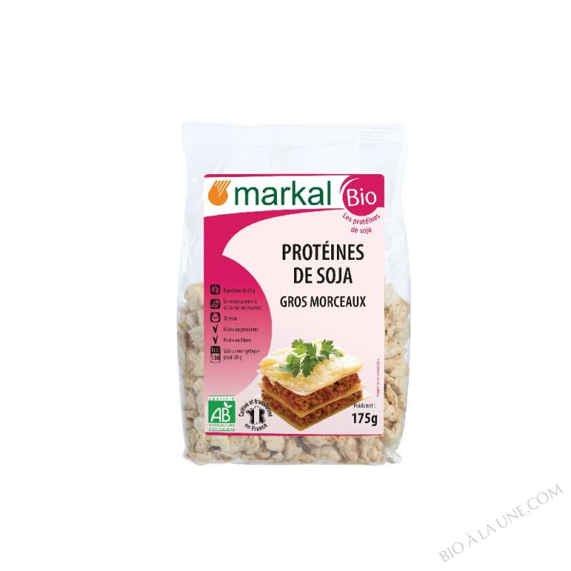 Protéines de soja - gros morceaux