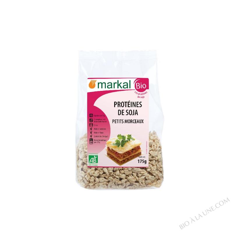 Protéines de soja - petits morceaux