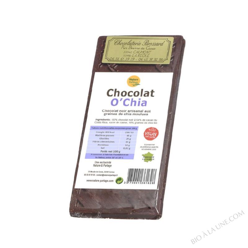 CHOCOLAT O'CHIA 100 G