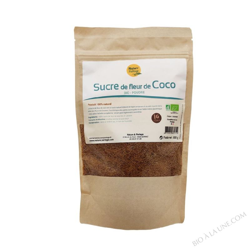 SUCRE DE FLEUR DE COCO BIO 300 G