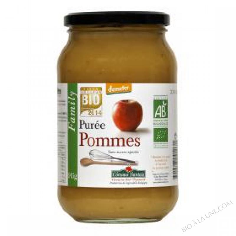 Puree pommes Bio et Demeter 915g