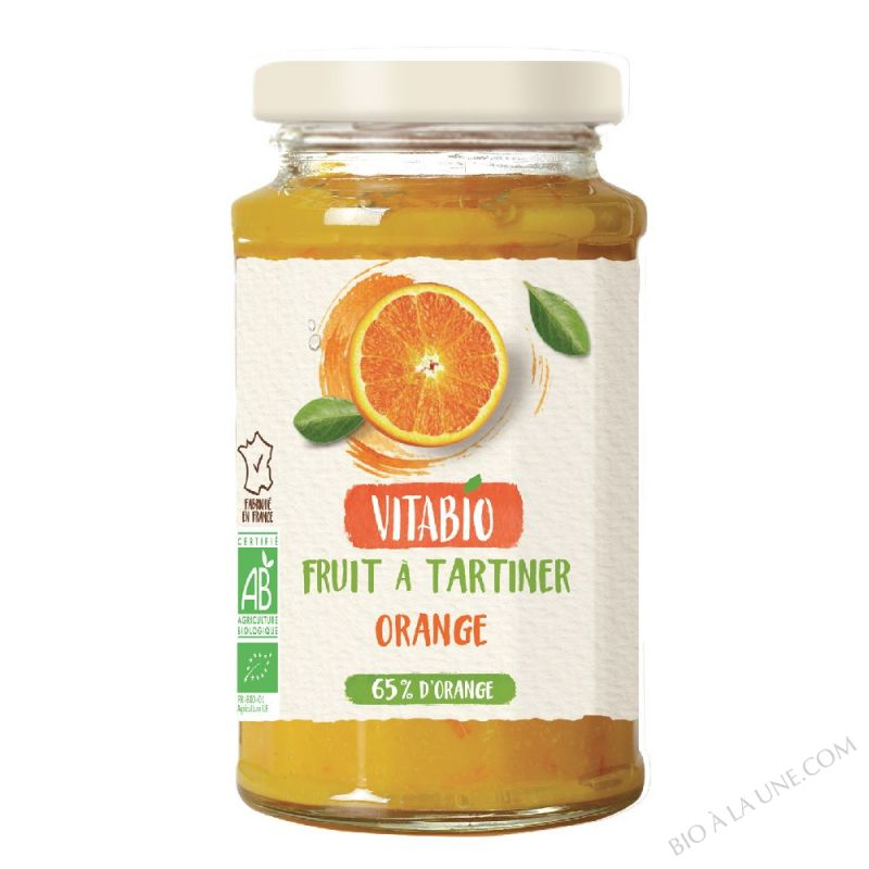 Delice Orange - puree de fruits Bio 290g