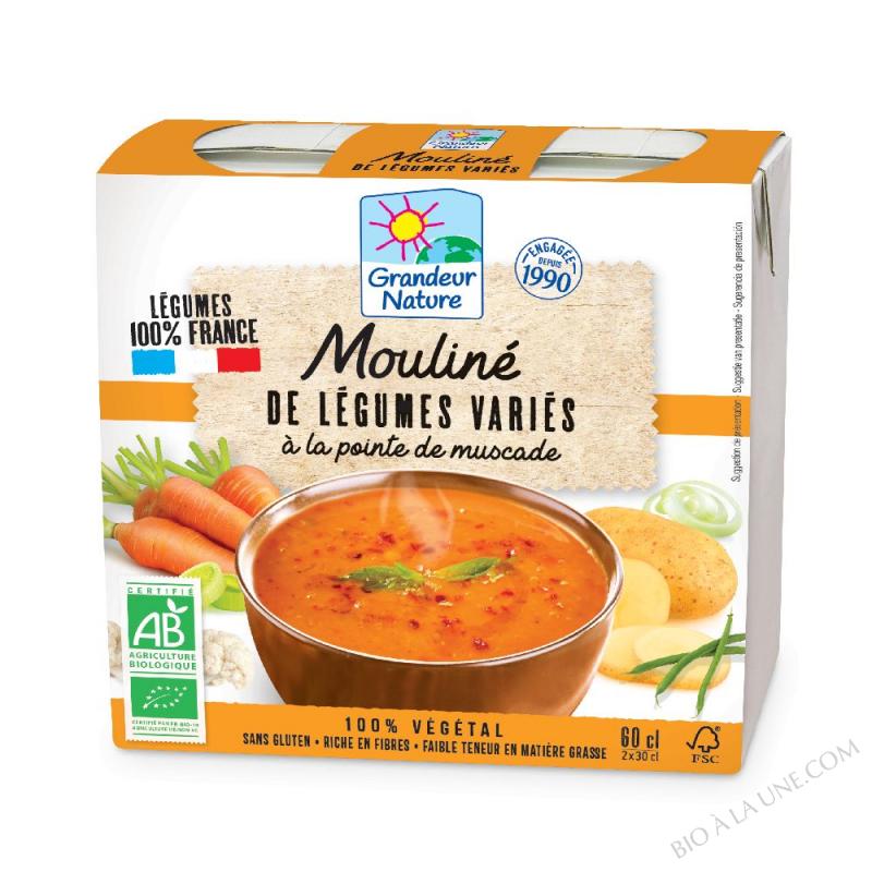 MOULINÉ DE LÉGUMES VARIÉS BIO - 2X30CL