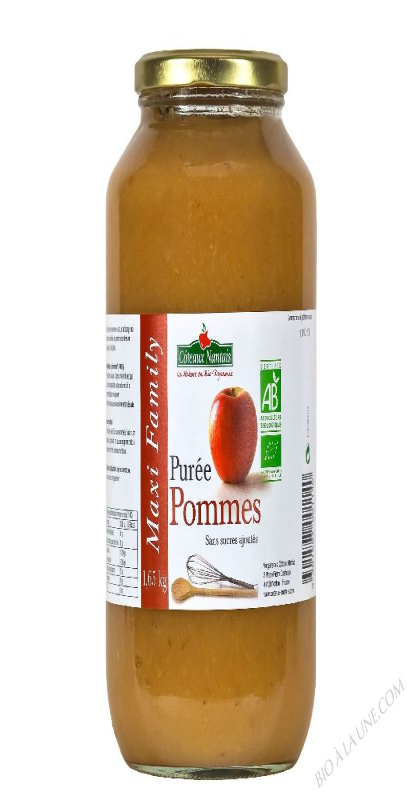 Puree pommes Bio 1,65kg