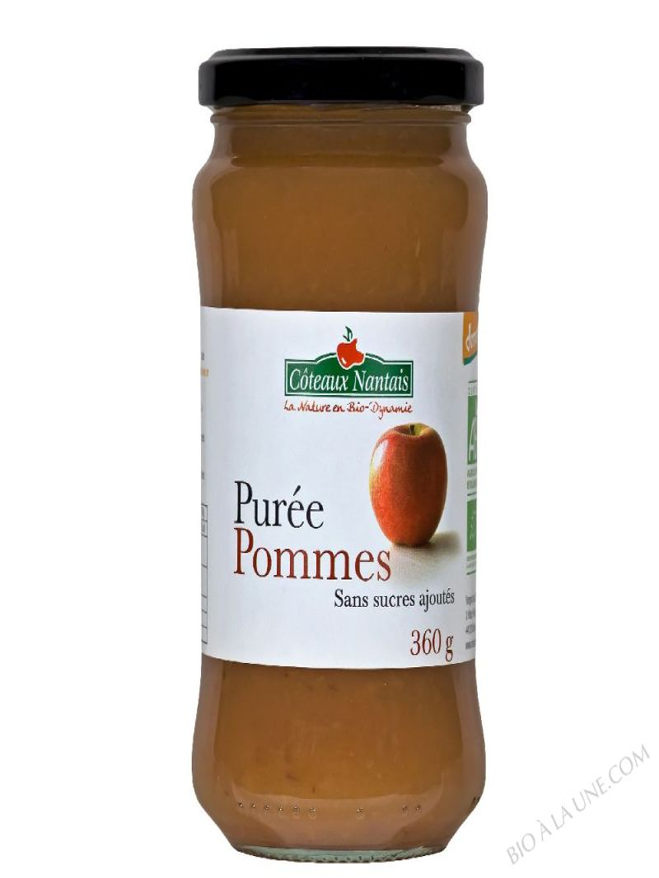 Puree pommes Bio et Demeter 360g
