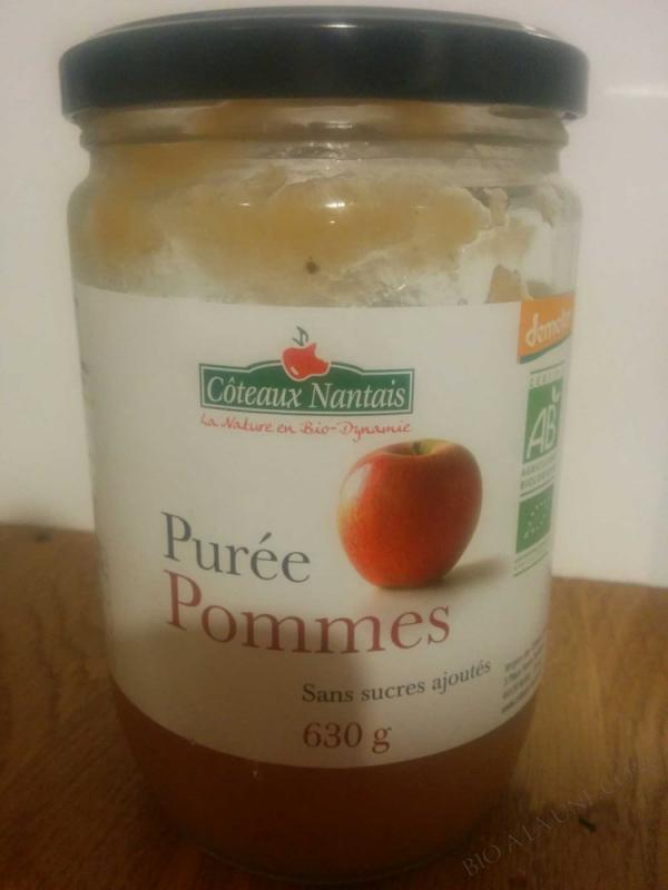 Puree pommes Bio et Demeter 630g