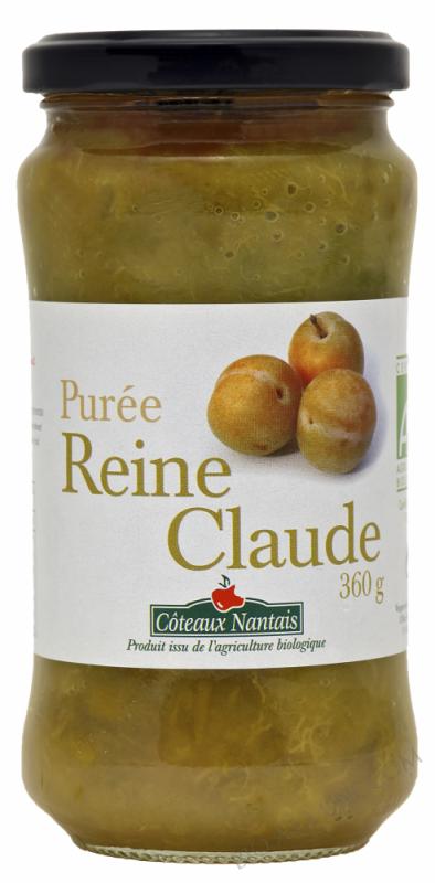 Puree Reine Claude Bio 360g