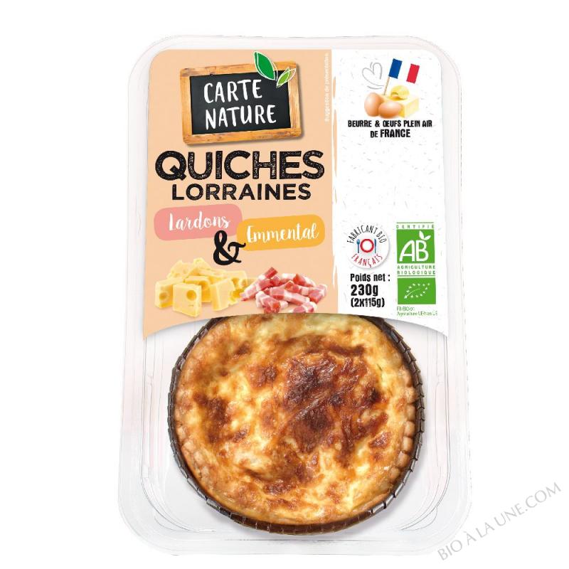 QUICHE LORRAINE 2X115G C.NATURE