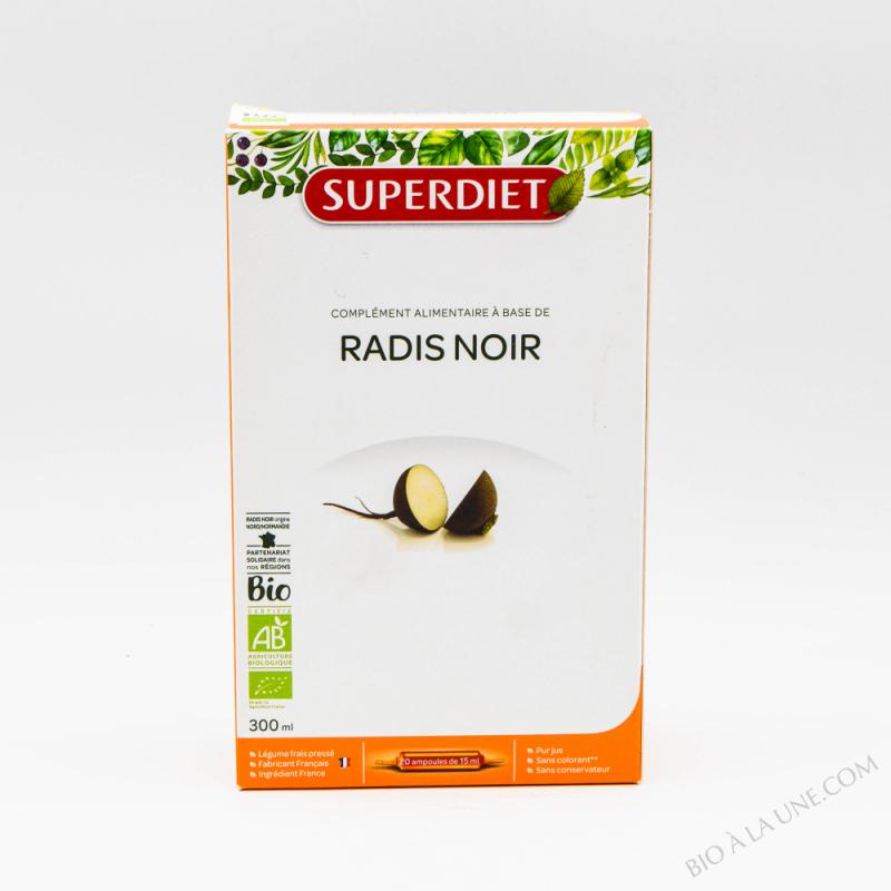 RADIS NOIR BIO -  20 ampoules de 15ml
