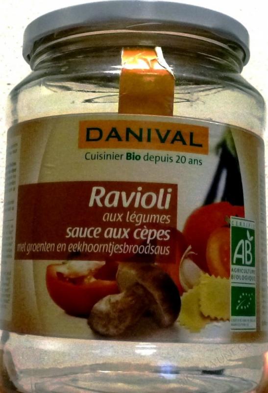 RAVIOLI CEPES LEGUMES 670G DANIVAL