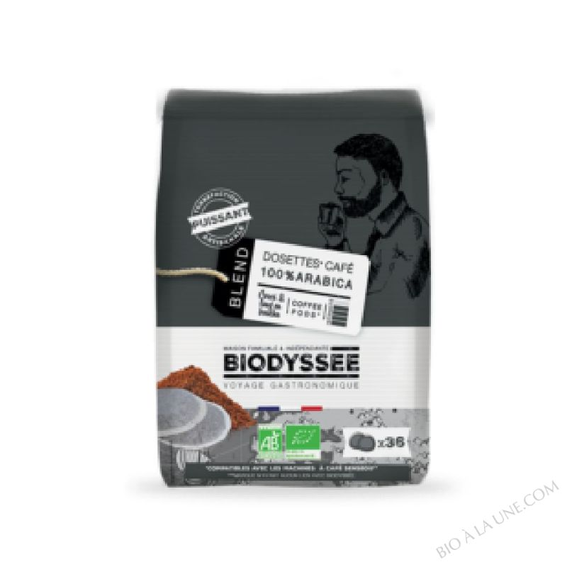 Dosettes Compatibles Senseo Café Forte Italien 100% Arabica x36