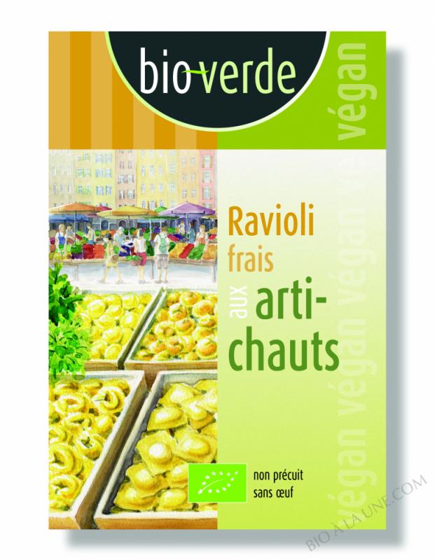 Ravioli Frais Artichauts - 250G