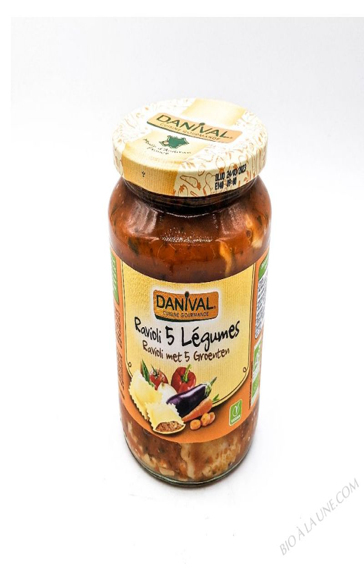 RAVIOLI LEGUMES 670G DANIVAL