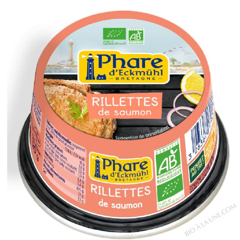 Rillettes de saumon 120g